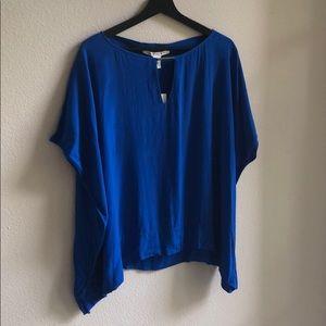 DVF Gorgeous Blue Top!